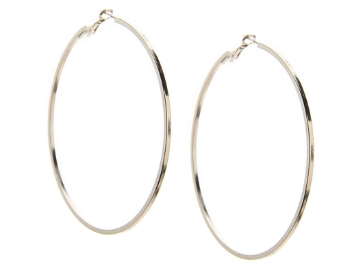 Picture of CROWN VINTAGE HOOP EARRINGS